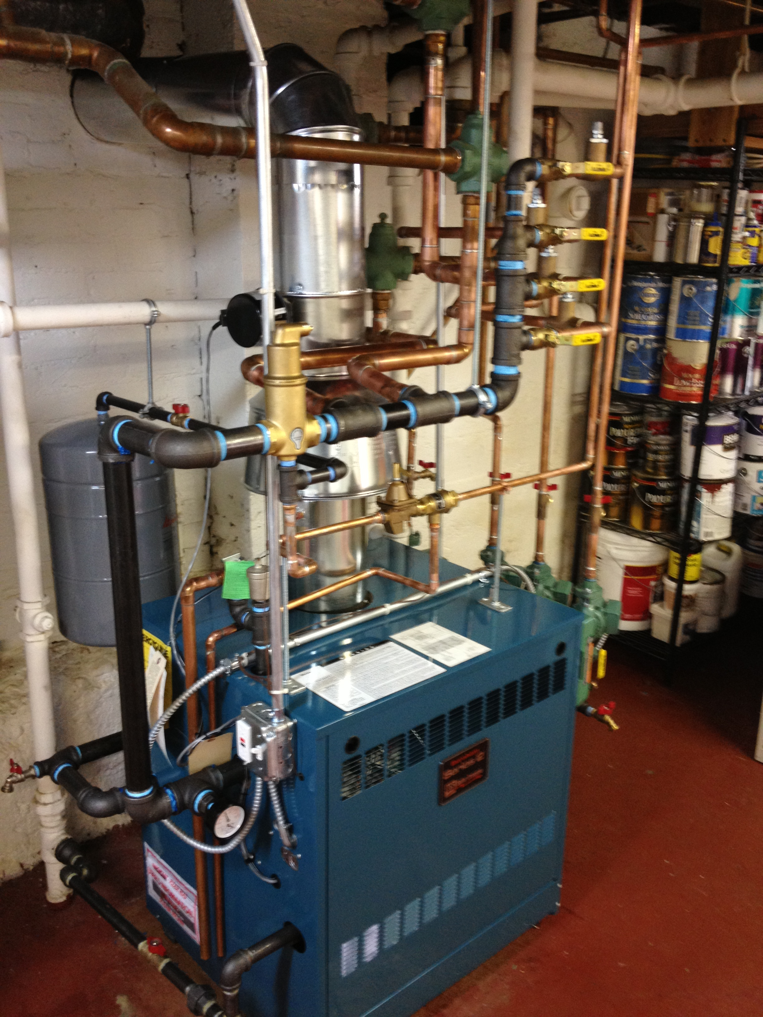 New Boiler Installation - Baker-Elman Plumbing Co.