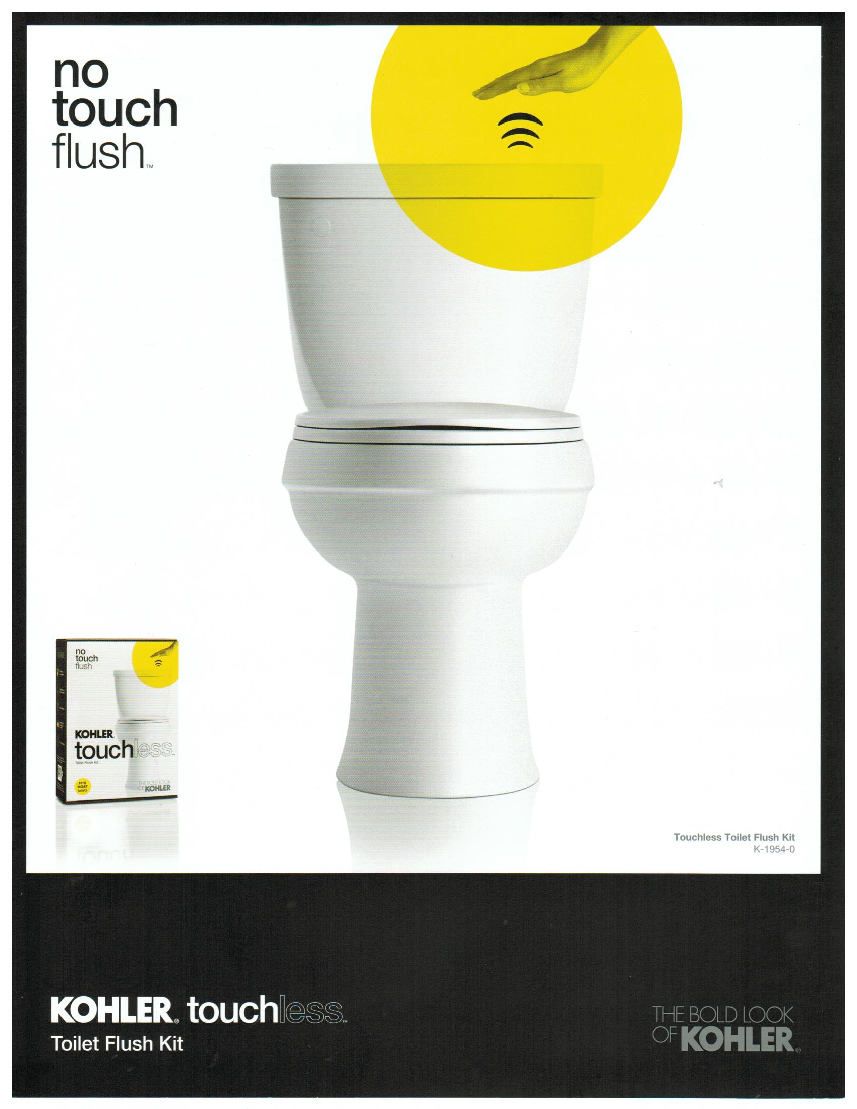 Touchless Flush 1